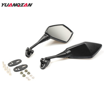 Motorcycle Mirror Black Moto Rearview Side Mirror For Yamaha YZF600 YZF 600 YZF600R YZF R1 R6 R3 R25 r6s r1m R125 R15 All Year